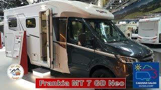Vorstellung des Frankia MT 7 GD Neo auf dem Caravan Salon 2019