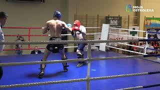 Sebastian Berk (Fight Academy Ostrołęka) vs Bartosz Deptuła (Fight Academy Ostrołęka)