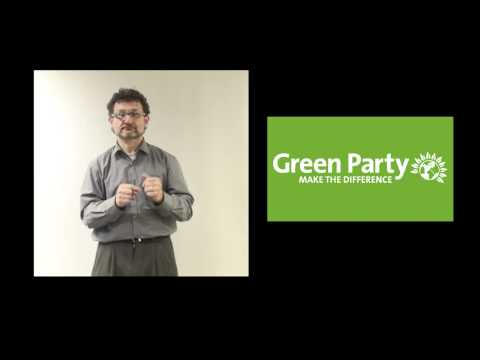 GREEN PARTY - MINI MANIFESTO BSL VERSION