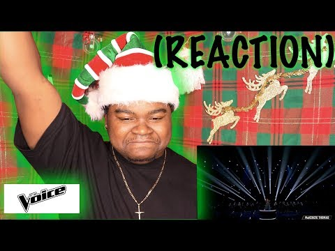 """MaKenzie Thomas Performs """"Because You Loved Me"""" - The Voice 2018 Live Top 10 Performances (REACTION)"""