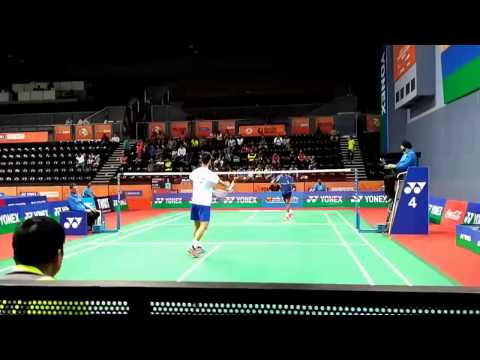 Srikanth Kidambi-INDIA OPEN 2017 Badminton Video Highlights- | R32 Day2 | Nice Camera Angle View
