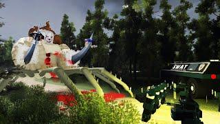 Влад A4, Мамикс, Ивангай Страшная история в Роблокс - В поисках Ивангая. Роблокс истории