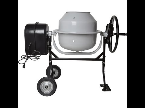 5 Best Concrete Mixer You Can Buy 2018 - Concrete Mixer Reviews