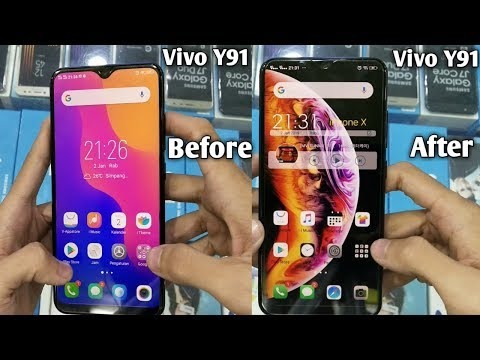 Vivo Y91 Rasa Iphone Thema Iphone Di Android Youtube