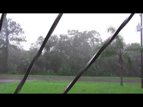 North Port, Florida 2017-09-10 457pm, Hurricane Irma, Facing SW, FR Yard