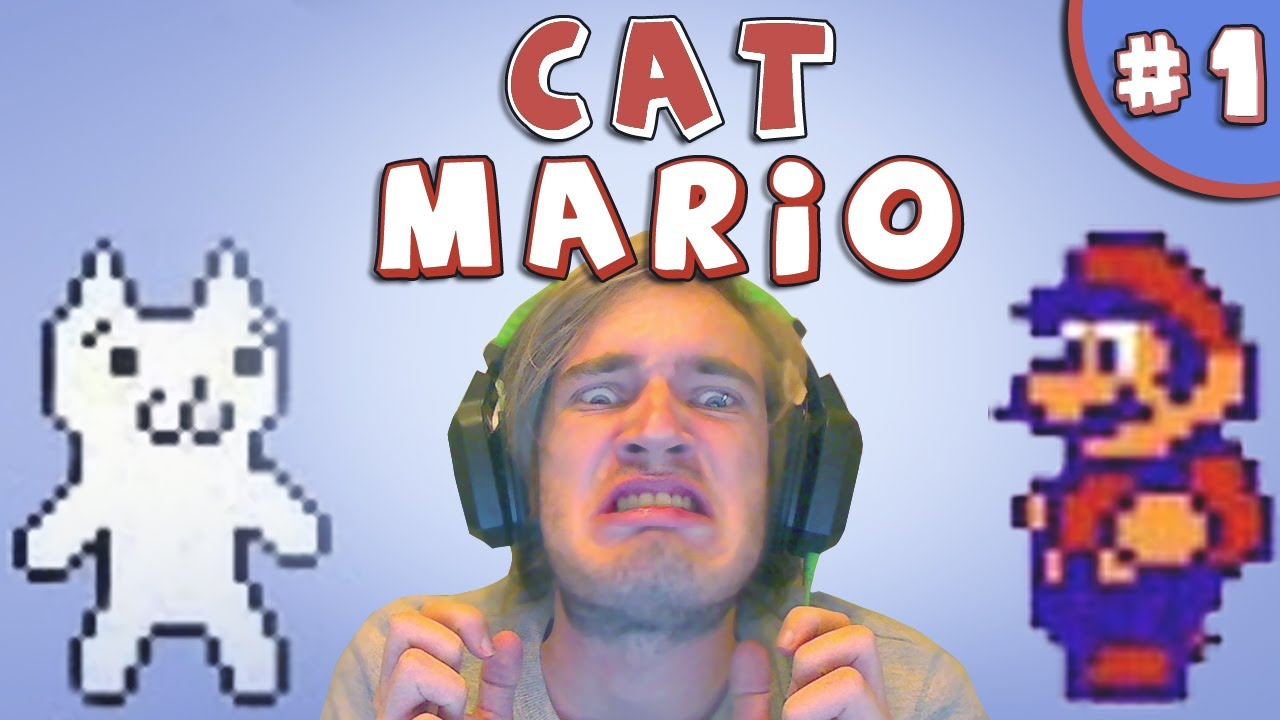 MOST FRUSTRATING GAME EVER! – Cat Mario (Syobon Action)