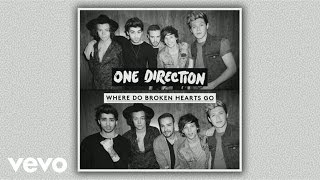 one direction   where do broken hearts go audio