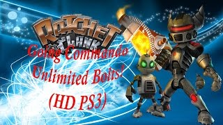 Ratchet & Clank 2: Going Commando Unlimited Bolts! (HD PS3)
