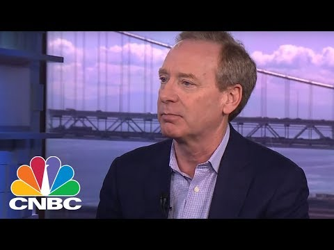Microsoft Chief Legal Officer Brad Smith On Security & Dealing With China   CNBC