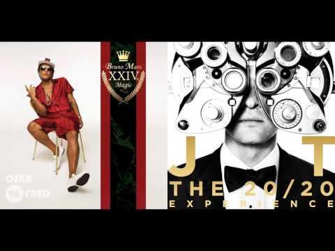 Justin Timberlake ft JAY Z vs Brun0 Mars - Suit & Tie vs 24KK Mag1c (Mashup)