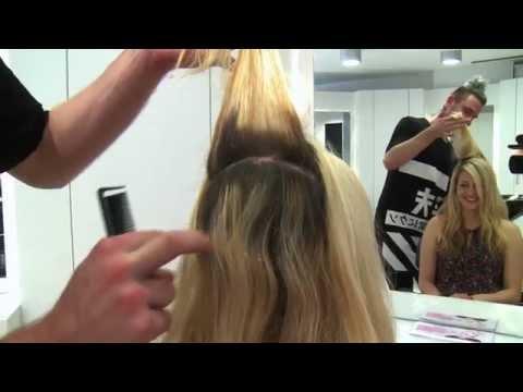 Selber verfärbt zu Hause , wie kann Friseur es retten !
