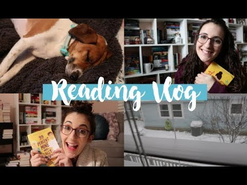 Reading Vlog [Snowed in and Exciting Book Mail!]