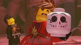 LEGO Ninjago: Shadow of Ronin Walkthrough Part 5 - Caves of Despair & The Obsidian Sword (3DS/Vita)