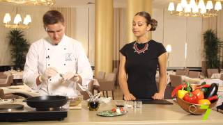 Завтрак на 7 с «KADORR Restaurant». Ростбиф из телятины с соусом «Вителло-тоннато»