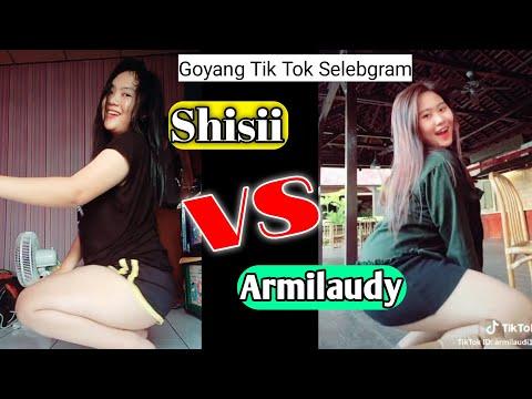 Goyang Tik Tok Sishi vs Armilaudy