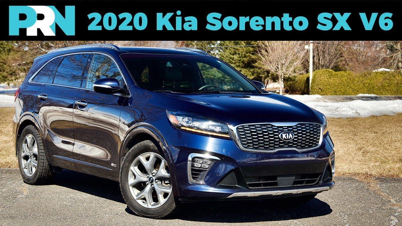 Showing It S Age 2020 Kia Sorento Sx V6 Review Youtube