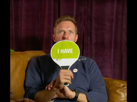 Never have I ever - with Chris Martin