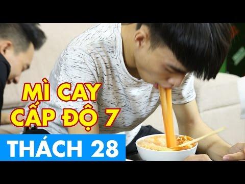THÁCH 28 | Mì Cay Cấp Độ 7 (Phở & Củ Tỏi) | GameShow Hài Hước Việt Nam