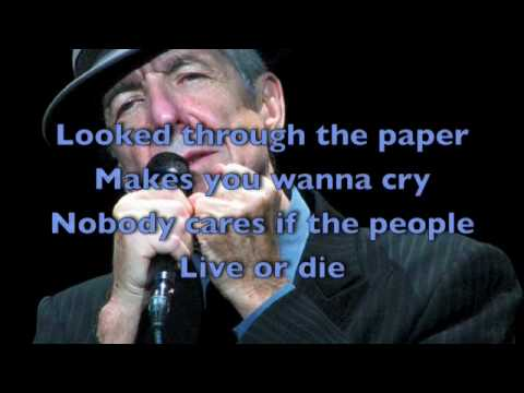 In My Secret Life  Leonard Cohen LYRICS