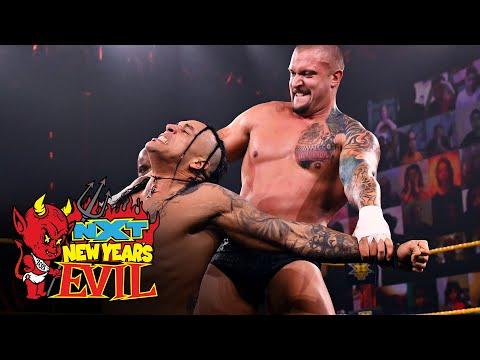 Damian Priest vs. Karrion Kross w/Scarlett: NXT New Year's Evil, Jan. 6, 2021