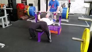Max benches 170kg@88kg PTC
