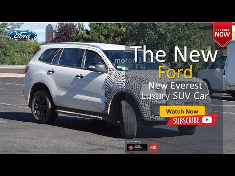 The 2020 Ford Everest Luxury Car All New SUV Concept Full Features