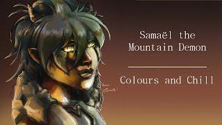 Samaël le Diable des Montagnes || Speedpaint