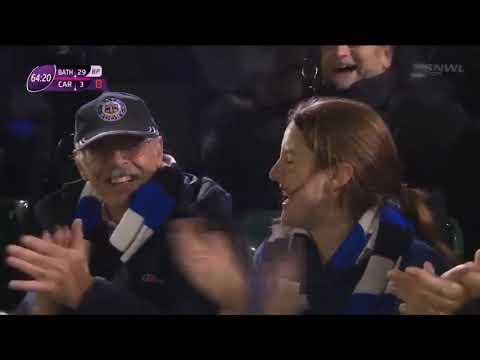 Ross Batty Try v Cardiff Blues