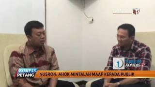 Viral Video Nusron Wahid Nasihati Ahok