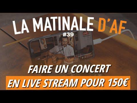 Roland crée une interface pour vos concerts en ligne - LA MATINALE D'AF #39