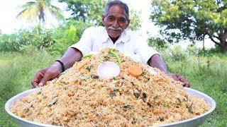 Egg Fried Rice Recipe  Grandpa Making  Egg Fried Rice for Orphan kids