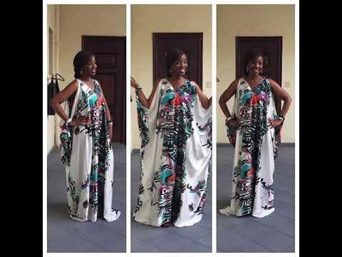 Top Modele Robe Africain En Chiffon De Soie Trop Classe Youtube