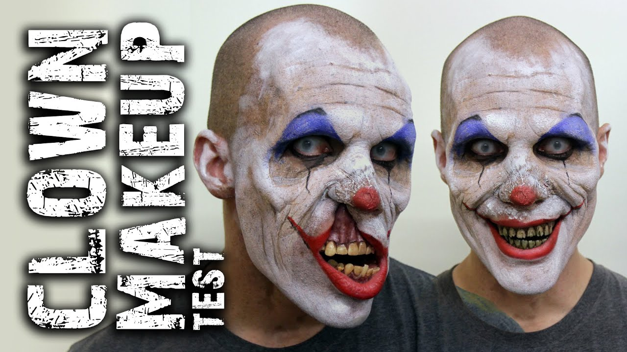 Scary Clown Makeup For Guys - Mugeek Vidalondon