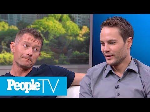 Taylor Kitsch, James Badge Dale & 'Only The Brave' Director Talk Bonding On Set & More | PeopleTV