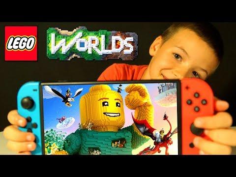 LEGO Worlds Прохождение Игры - Nintendo Switch - Игра про Мультики ЛЕГО - КокаПлей