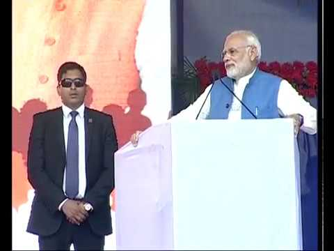 PM Modi addresses Public Meeting in Netrang, Gujarat
