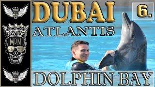 ATLANTIS DOLPHIN BAY DUBAI | AQUAPARK ATLANTIS | VLOG CZ | 6 DEN | TESTUJEME  Aquaventure Waterpark