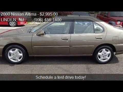2000 Nissan Altima GXE 4dr Sedan For Sale In LINDEN, NJ 0703