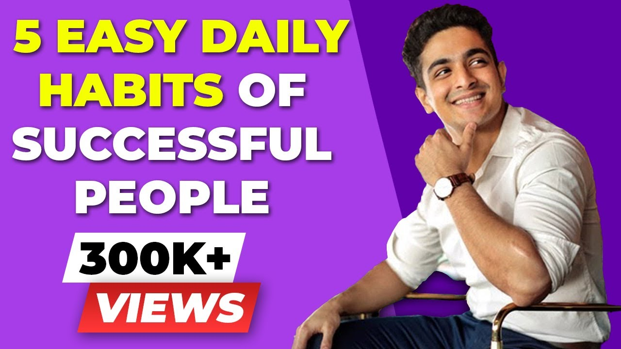 5 EASY Daily Habits THAT WILL CHANGE YOUR LIFE | Success Mentality | BeerBiceps Mental Fitness