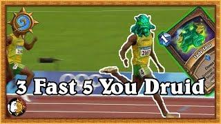 Hearthstone: Real Fast Real Fast Jade Druid