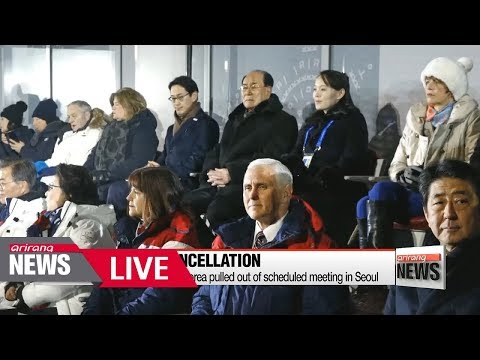 [LIVE/ARIRANG NEWS] U.S. reveals North Korea pulled out of scheduled meeting with Pence...