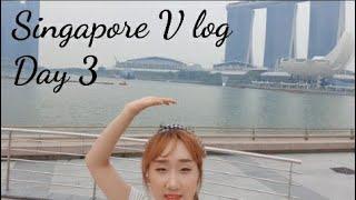 [여행일지] 싱가폴 3박5일 여행 브이로그! Day 3…