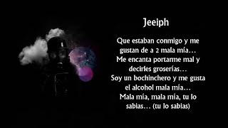 Jeeiph - Mala Mia [Letra] [Trap Venezolano]
