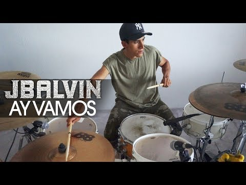 AY VAMOS - J Balvin  | Drum Remix (AWESOME COVER)