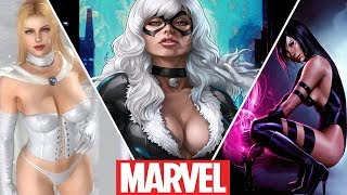 Marvel's Hottest Girls From Cartoons (2019)