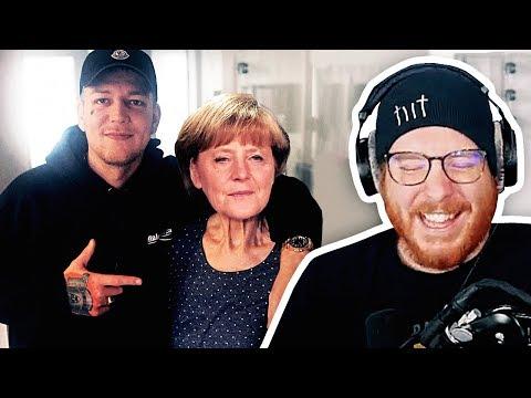 Unge REAGIERT auf Monte liebt Merkel   #ungeklickt