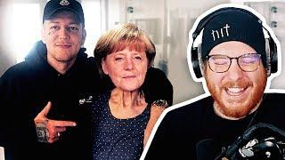 Unge REAGIERT auf Monte liebt Merkel | #ungeklickt