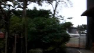 猪苗代湖畔にある野口英世の生家前の 風景をパノラマにパンして見ました.