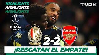 Highlights | Standard Lieja 2 - 2 Arsenal | Europa League - J 6 - Grupo F | TUDN