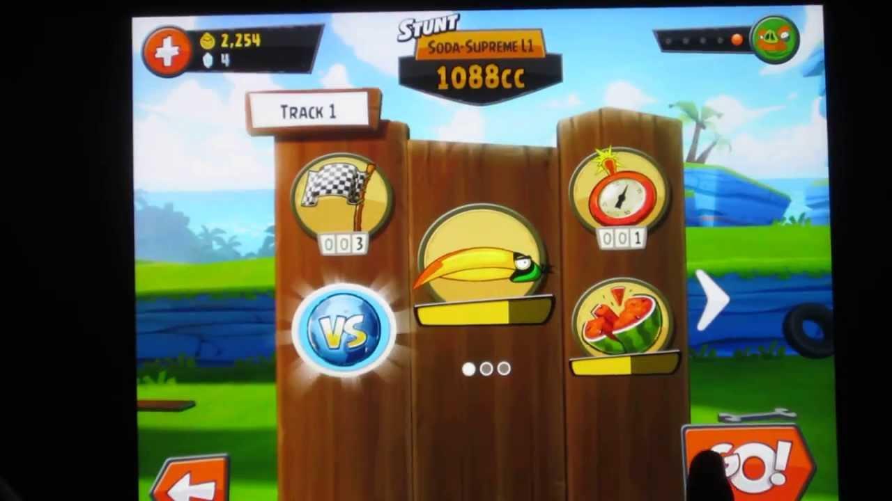Angry Birds GO! Hal Unlocked